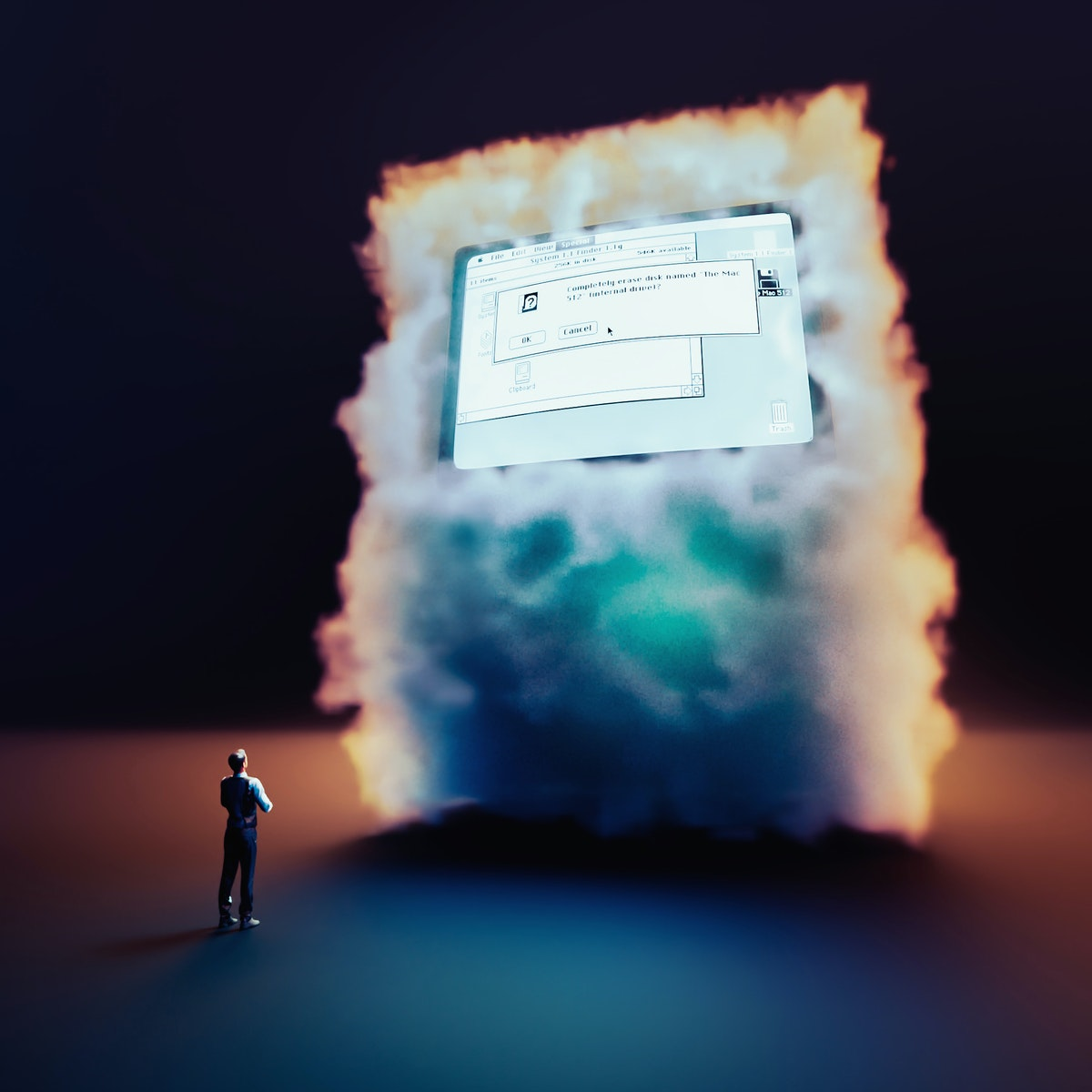 The cloud computer